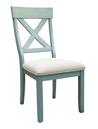 American Imports   DINING CHAIR X-BACK KELSEY CREEK