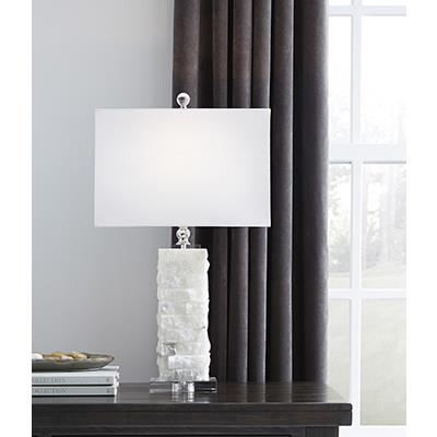 Signature Design   Malise White Table Lamps