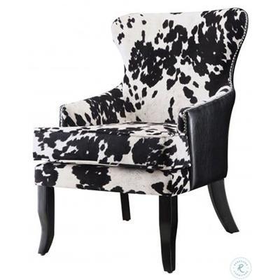 Coaster | Black & White Cow Skin