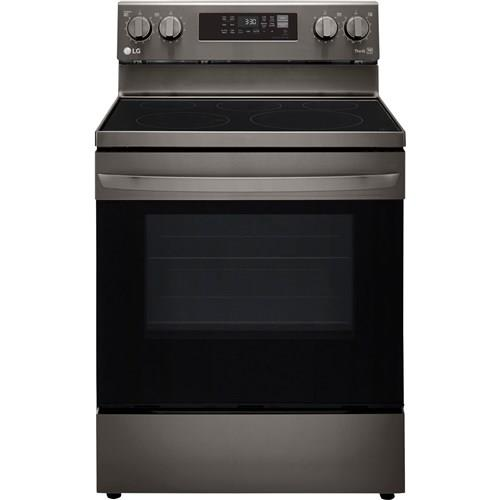 LG   6.3 CF Convection Oven Air Fry Black Stainless