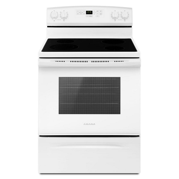 Amana 4.8 cu. ft. Electric Range with Self-Cleaning Oven - White
