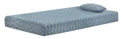 Ikids | Twin Mattress and Pillow - Light Blue