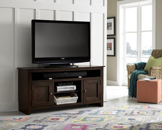 Progressive Furniture | Rio Bravo 58 inch TV stand - DK PINE