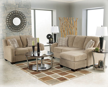 Rent 2 own catalog 31801 sofa chair taupe for Ashley circa taupe sofa chaise