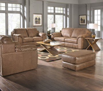 Bon Rent Jackson Furniture Sullivan Sofa U0026 Loveseat   Nutmeg | Living Room  Furniture Rental | RENT 2 OWN