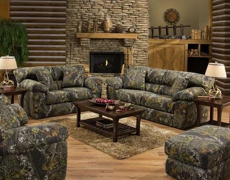 Jackson Furniture Mossy Oak Break Up Sofa