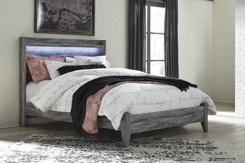Signature Design | Baystorm Gray Queen Bed