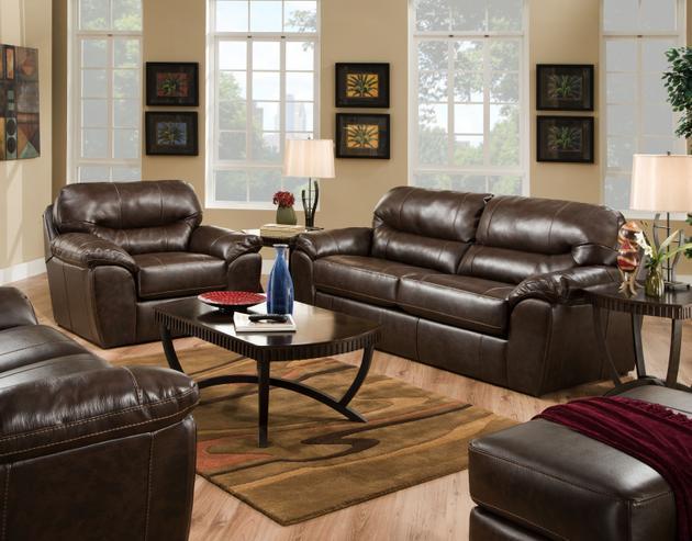 Jackson Furniture Brantley Java SOFA and LOVESEAT