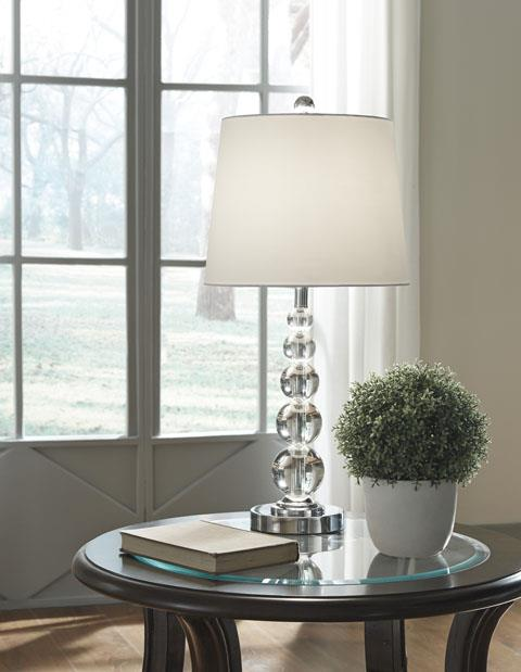 Signature Design | Crystal Table lamps