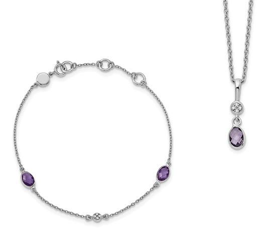 New Generations | Sterling Silver Necklace/Bracelet Set