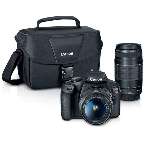 Canon | Rebel T7 Digital Camera with 2 Lens