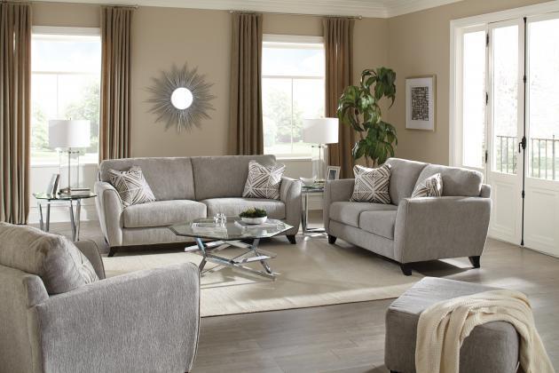 Jackson Furniture Alyssa Pebble SOFA and CHAIR