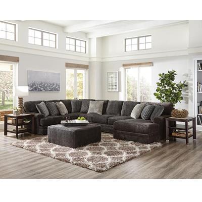 Jackson Furniture | MAMMOTH SMOKE OTTOMAN