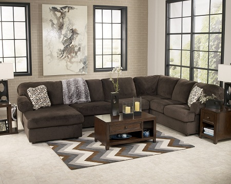 Rent Signature Design Jessa Place 3-Piece Sectional ...