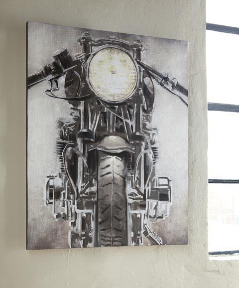 Signature Design  Jaimin Motorcycle Wall Art
