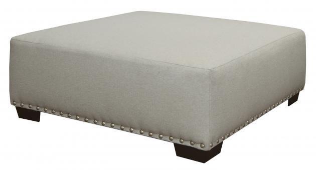 Jackson Furniture Middleton Cement Ottoman