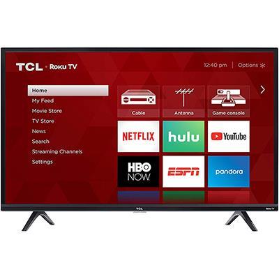 TCL | 720P 32 inch Smart TV w/ ROKU
