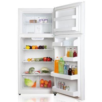Midea   18 CF Top Mount Refrigerator - White