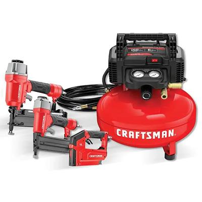 Craftsman | 6 Gal Portable Electric Air Compressor with3 tools