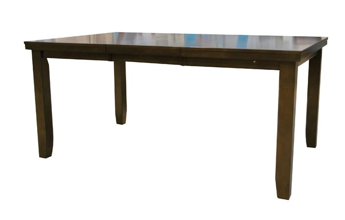 American Imports | DINING LEG TABLE DARK BROWN