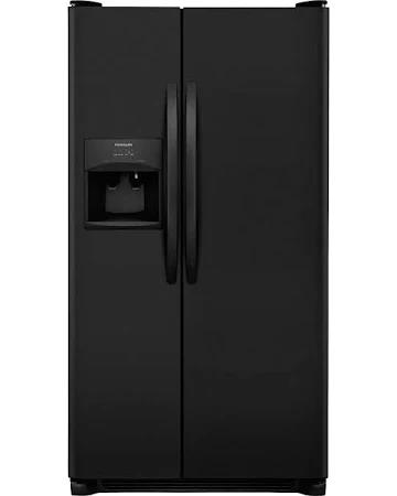 Frigidaire | 26 Cu Ft Black Side by Side ESTAR