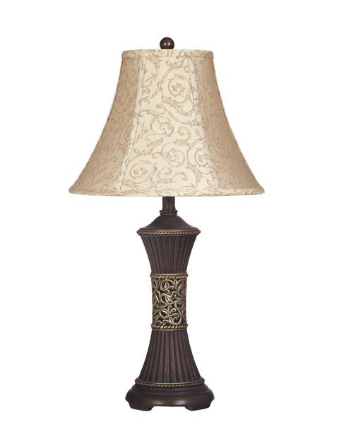 Signature Design | Mariana Bronze Pair of Lamps