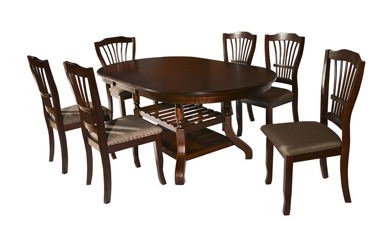 American Imports Bixby Expresso Table & 4 Chairs