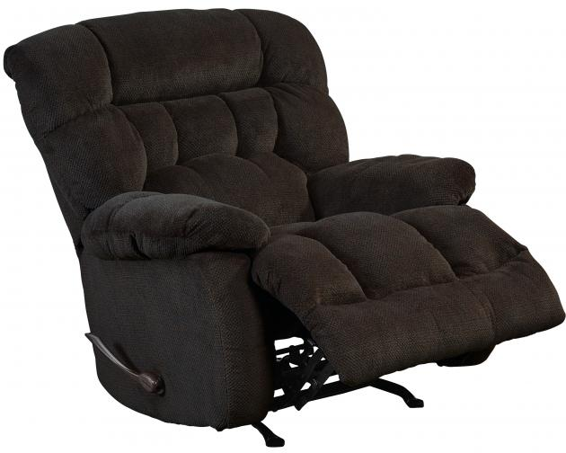 Catnapper Daly Chocolate Chaise Glider Recliner