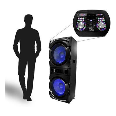 Alien Pro   12000w 52 Tall 2 speaker DJ Mixer
