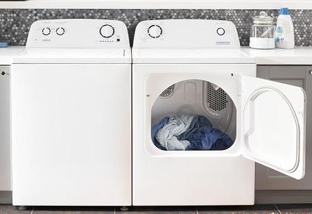 Conservator | Electric Dryer, 3.5 cu. ft. Top Load Washer with Agitator