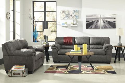 Signature Design Bladen Slate Sofa and Loveseat