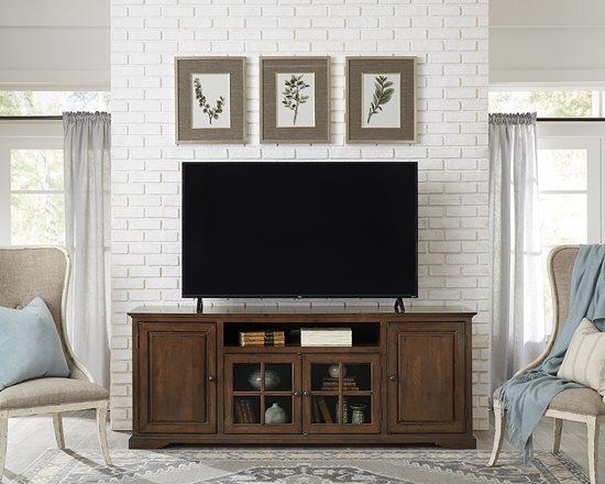 Progressive Furniture   82 TV Cart