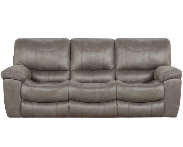 Catnapper   Trent Charcoal Dual Reclining Sofa