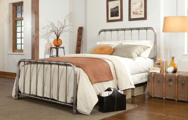 Standard Furniture | Tristen Pewter Queen Bed