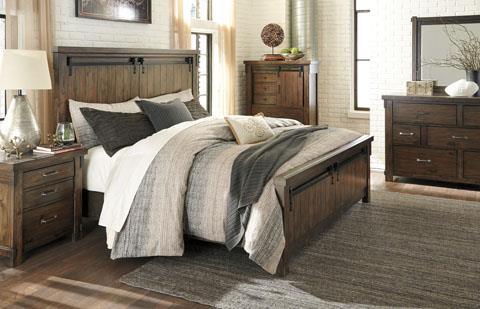Signature Design   California King Lakeleigh Bed