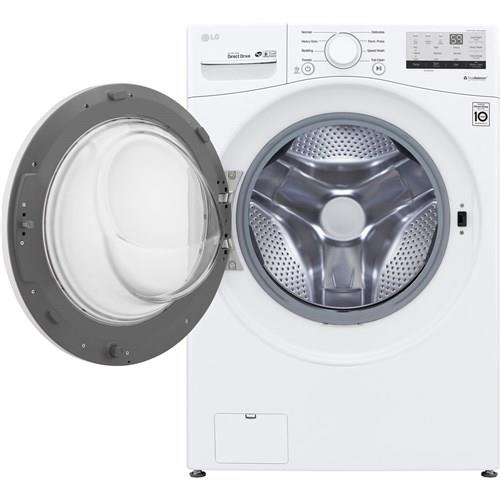 LG | 4.5 CF Front Load Washer SmartThinQ