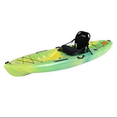 Lifetime   Limegrass Teton Angler 10 ft Kayak