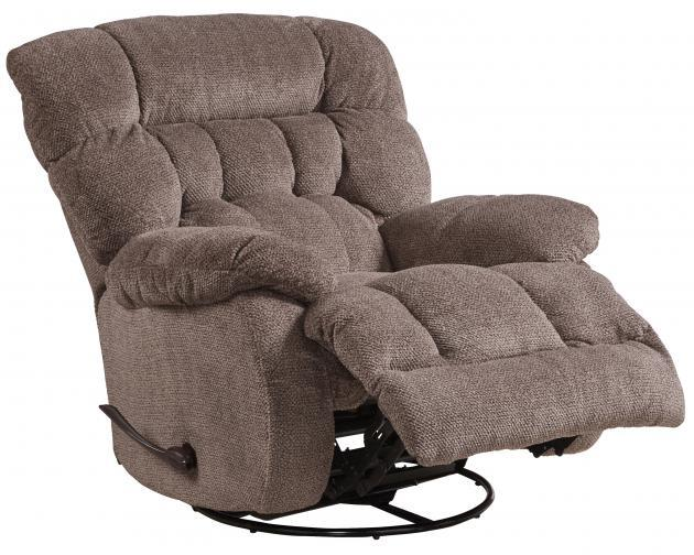 Catnapper Daly Chocolate Glider Recliner