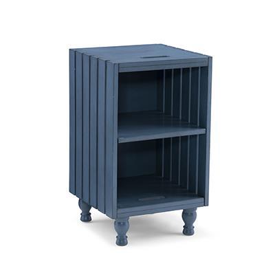 Powell | Elmhurst Crate Table - Blue