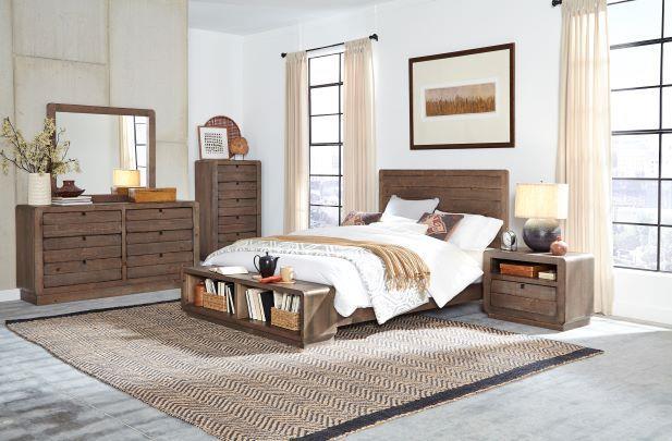 Progressive Furniture | Bliss Mocha Queen Bed
