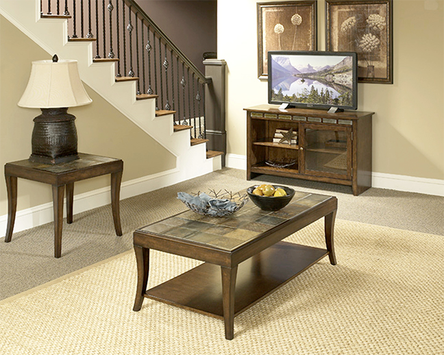 Rent American Wholesale Furniture Mahogany Slate