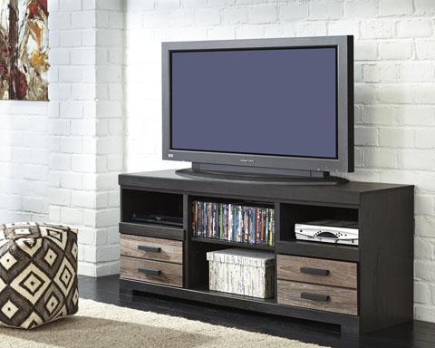 Signature Design | TV Stand Warm Gray