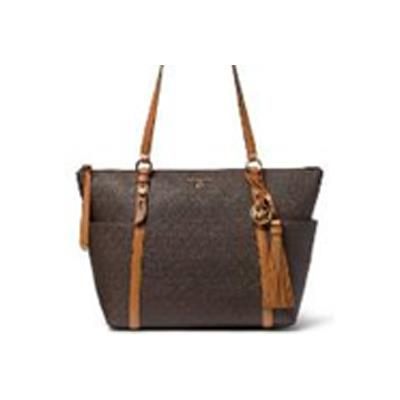 Michael Kors | Sullivan Large Logo Top-Zip Tote Bag - Brown/Acorn