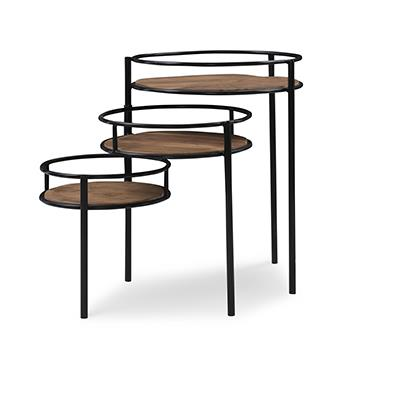 Powell | Denman Three Tiered Plant Stand
