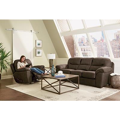 Jackson Furniture  Legend Chocolate SOFA and RECLINER