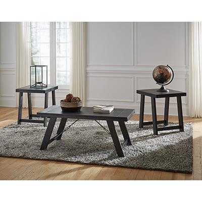 Signature Design Noorbrook black/pewter Tables