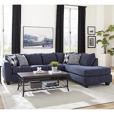 Albany | Endurance Denim sofa & chaise