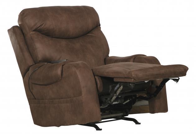Catnapper   Recharger Chocolate recliner PWR w/ Heat & Massage