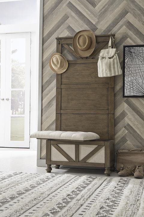 Signature Design | hall Tree w/ Storage Bench
