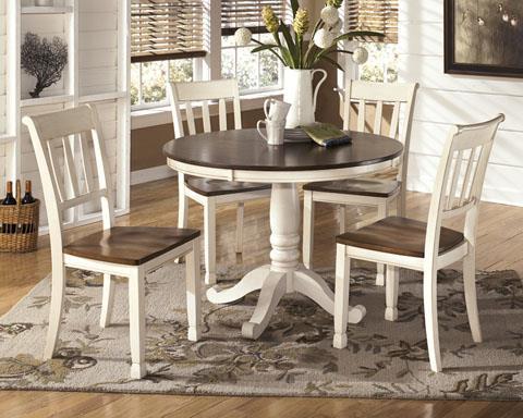 Signature Design | Whitesburg TABLE W/4 CHAIRS
